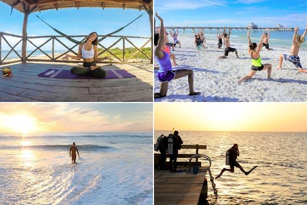 Mélo : Yoga et plongée