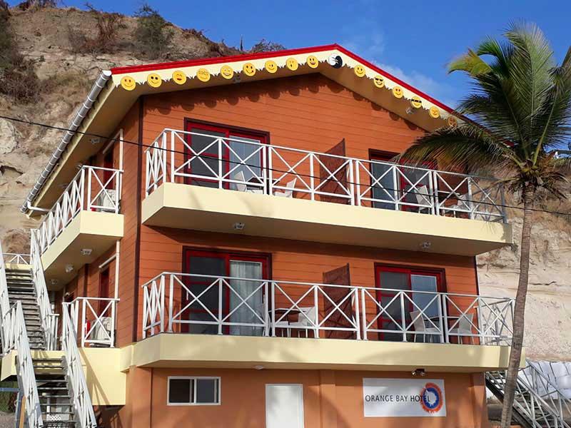 Saint Eustache - Orange Bay Hotel