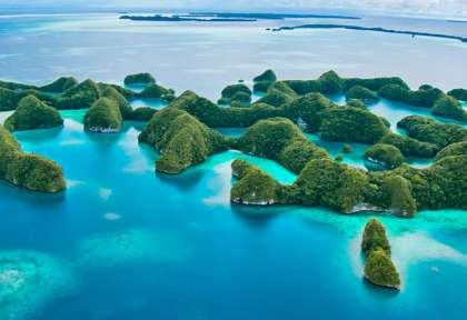 Rocks Islands © Palau Siren