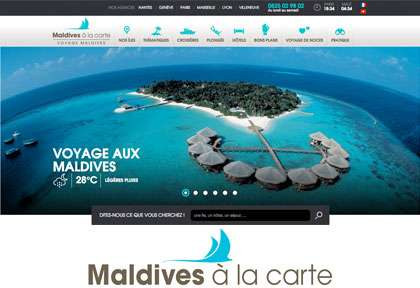 Maldives à la carte
